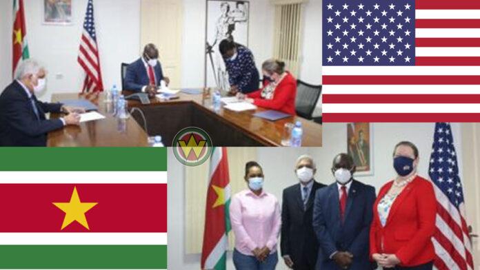 Suriname gaat intensievere samenwerking met VS aan