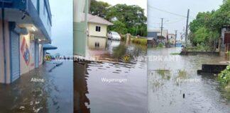 Ernstige wateroverlast in Suriname: regering reserveert SRD 100 miljoen voor hulp