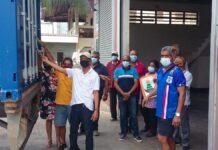 VG Himmat stuurt 20ste container met hulpgoederen naar Suriname