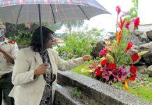 Herdenking gesneuvelde Surinaamse soldaten tijdens Tweede Wereldoorlog