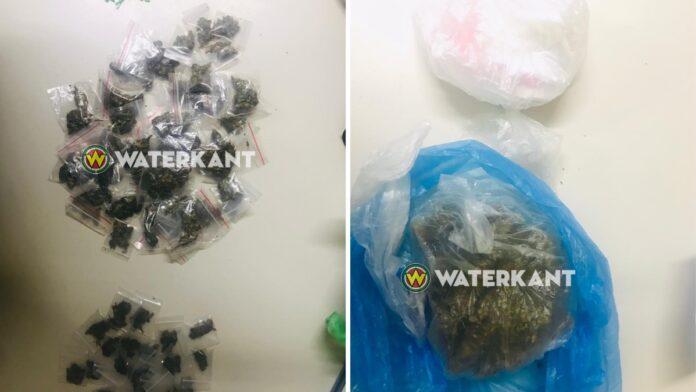 Twee verdachten met drugs op straat aangehouden