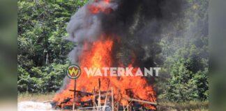 Onderschepte cocaïne Tafelberg door justitie vernietigd