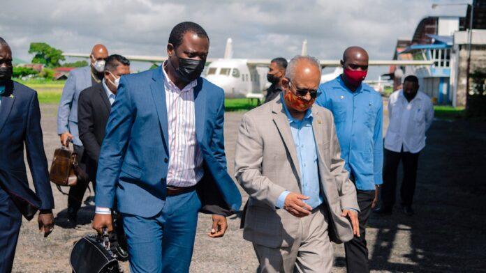 Afgelopen weekend ministeriële ontmoeting tussen Suriname en Guyana