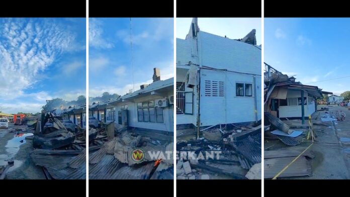 VIDEO: COVID-19 noodnummer 178 uitgeschakeld na verwoestende brand
