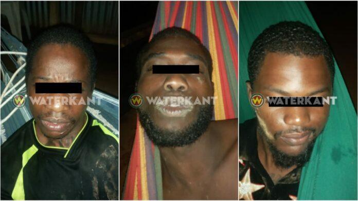 Melding drie ontvluchte arrestanten aangehouden in binnenland