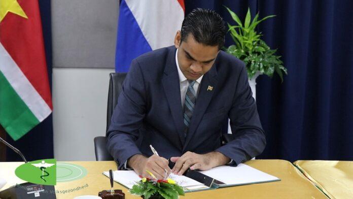 Menteri Ramadan menandatangani perjanjian donasi vaksin di Belanda