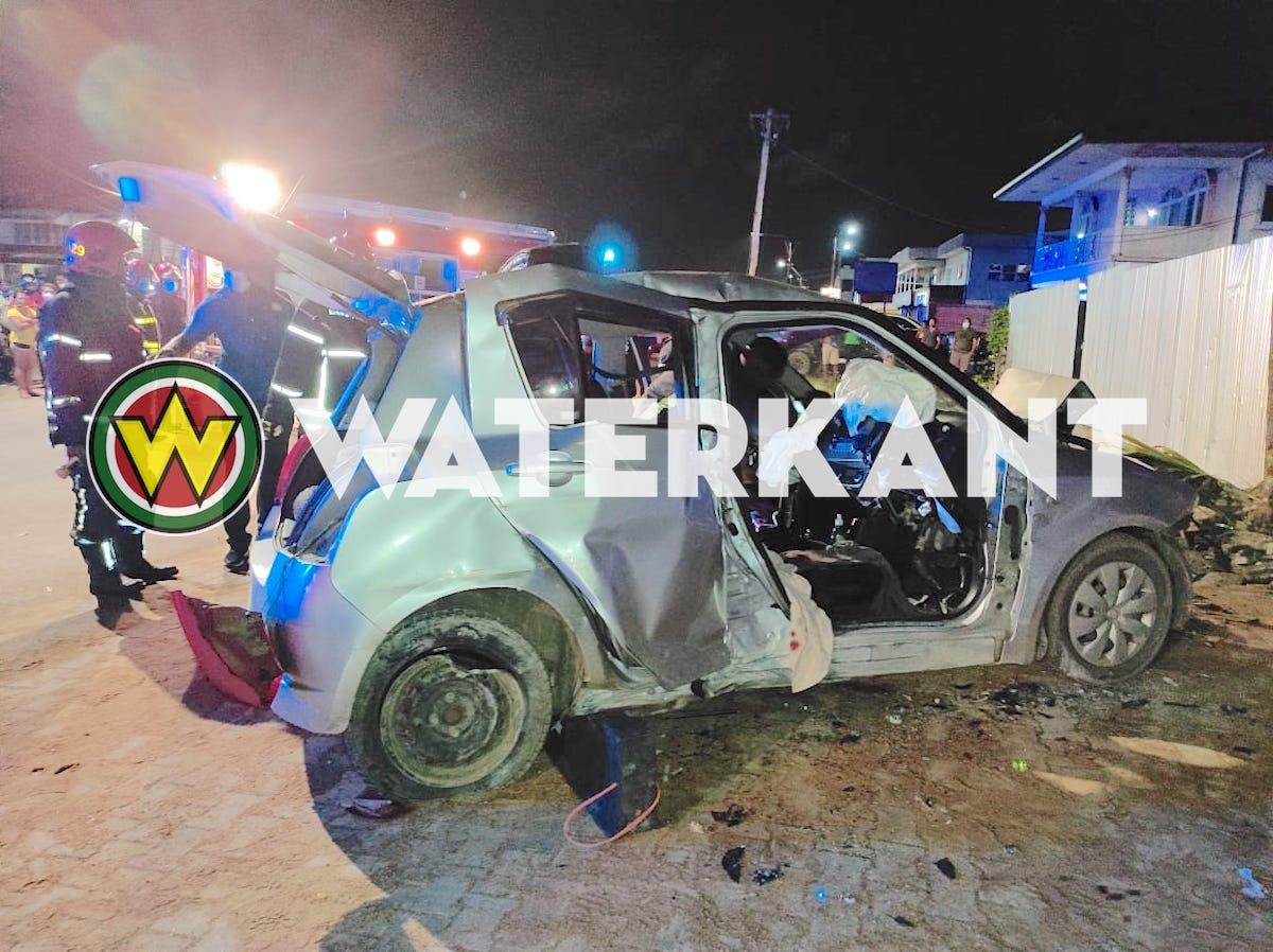 Dode bij verkeersongeval Wilhelminastraat