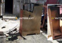 Explosie in klerenkast I en R houtmarkt; grote ramp voorkomen
