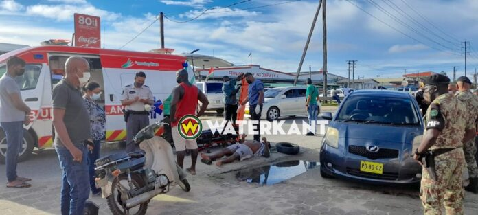 Bromfietser tijdens full lockdown aangereden