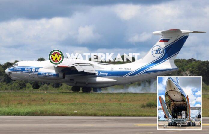 Nederlandse hulpgoederen aangekomen in Suriname