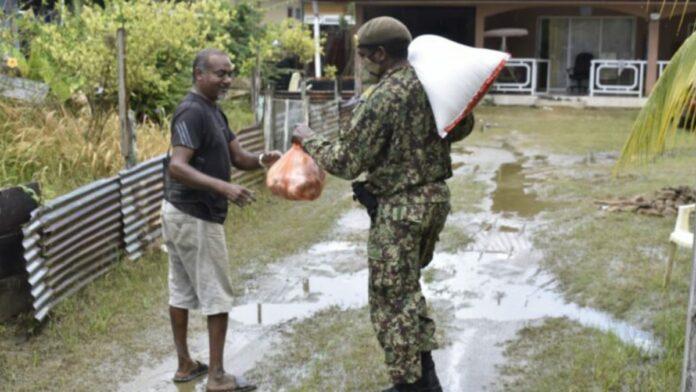 Paketverteilung in Surinam