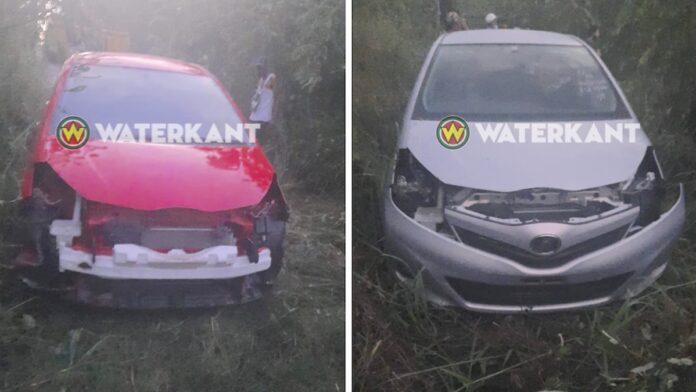VIDEO: Gestolen auto's gestript op afgelegen plek teruggevonden