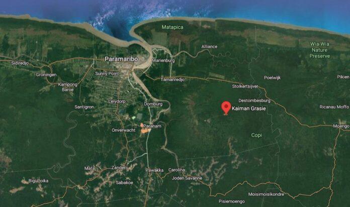 Grote hoeveelheid drugs te Kaiman Grasie onderschept