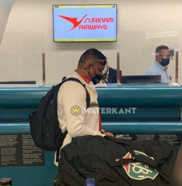 Natio niet gestrand maar met ander vliegtuig naar Suriname