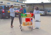Surmac doneert goederen ter waarde van ruim US$10.000 aan Diakonessen Ziekenhuis