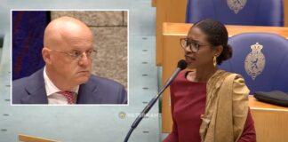VIDEO: Sylvana Simons woedend na felle discussie met minister in Tweede Kamer