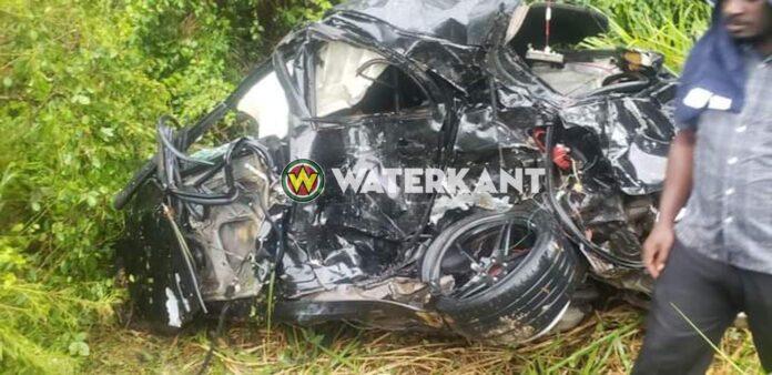 Man overleden na verkeersongeval Oost-Westverbinding