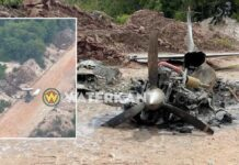 Ook in Guyana afgebrand vliegtuig aangetroffen