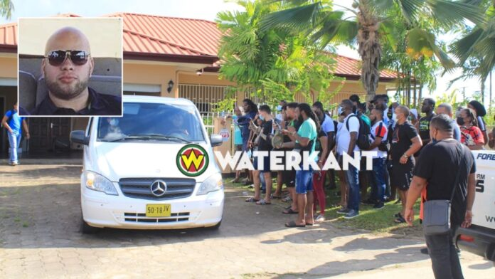 Lichaam Walter Bouterse in beslag genomen en afgevoerd naar mortuarium