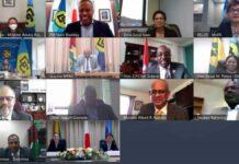Minister Ramdin pleit voor toegang tot voldoende ontwikkelingskapitaal