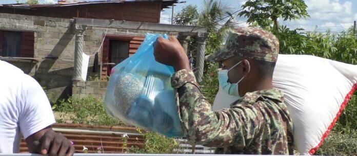 Le famiglie di Skip ricevono ancora pacchetti di aiuti di emergenza