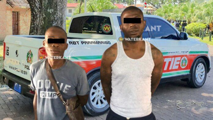 RBT-Paramaribo rijdt rovers kort na overval klem