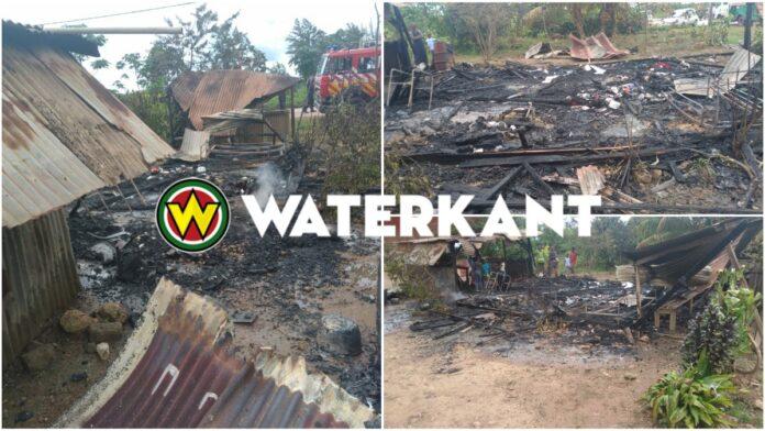 Woning afgebrand na gascilinderexplosie; echtpaar en zeven kinderen dakloos