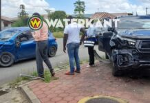 Aanrijding nadat automobilist verzuimt voorrang te verlenen