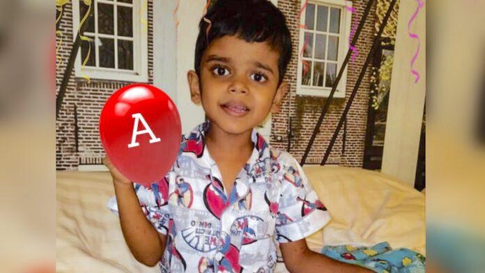 5-jarige Arush uit ziekenhuis na medische ingreep