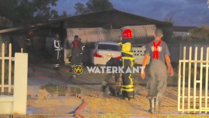 Brand bij woning aan de Biharielaan