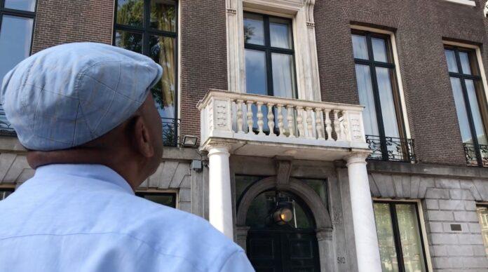 VIDEO: Woning burgemeester Amsterdam hoofdkwartier Curaçaose slavenroute