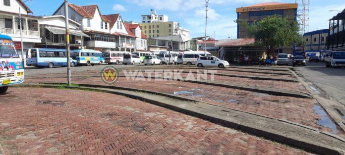 Staatsvervoer in Suriname vandaag lamgelegd