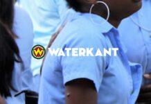 Muloschool leerlingen in Suriname