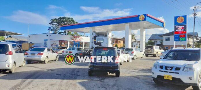 Niet alle pompstations in Suriname vandaag gesloten