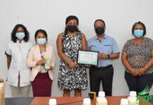 Nationale Partij Suriname doneert sondevoeding aan het AZP