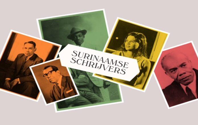 Online tentoonstelling 'Surinaamse schrijvers - De weg naar een onafhankelijke literatuur'
