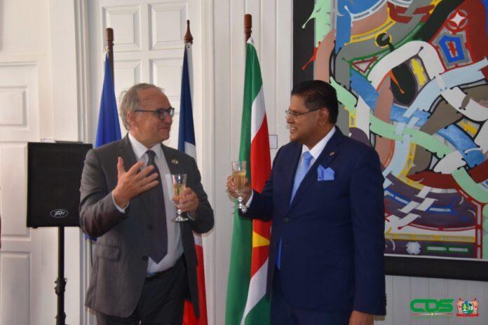 Frankrijk wil betere bescherming klimaat in Guyana-schild