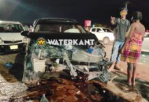 Drie auto's beschadigd bij aanrijding tijdens lockdown