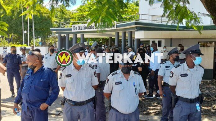 Weer oproep tot protestactie bij DNA in Paramaribo
