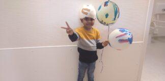 5-jarige Arush ontslagen uit ziekenhuis