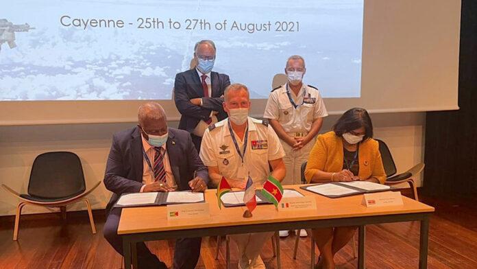 Unieke samenkomst defensie Suriname, Frans-Guyana en Guyana