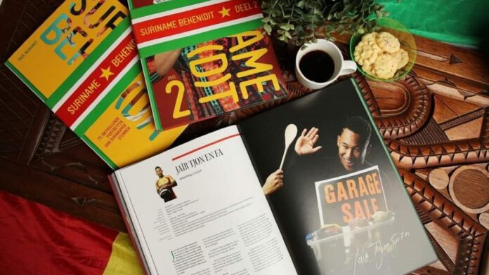 Suriname Beken(d)t gaat Jaïr steunen: 50% van verkoop boek naar wielrenner