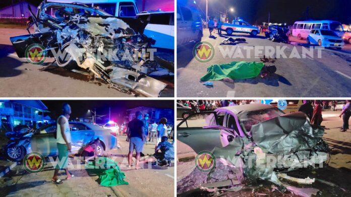 Veroorzaker verkeersongeval uit voertuig geslingerd en overreden