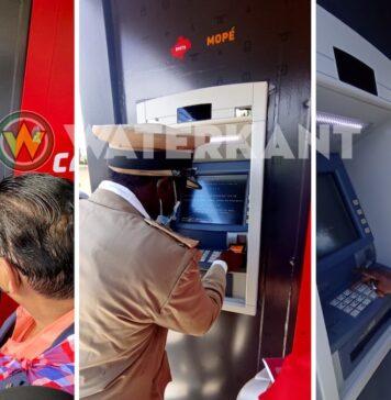 Launch 'Financial inclusion' te Gujaba met nieuwe pinautomaat