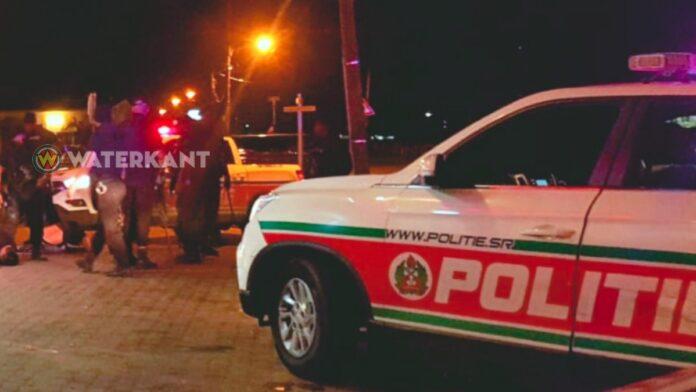 Politie-eenheden ter plaatse