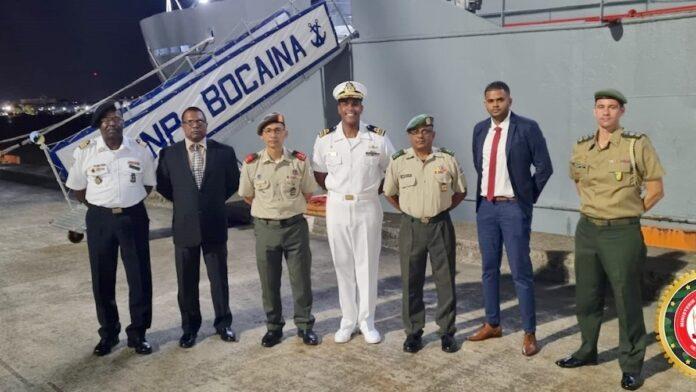 Braziliaanse marineschip 'Bocaina' bezoekt Suriname
