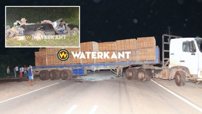 Truck in beslag genomen, rijbewijs chauffeur ingevorderd
