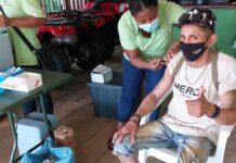 Goudzoekers Sarakreek krijgen gelegenheid tot vaccineren
