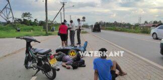 Automobilist met vervallen rijbewijs veroorzaakt aanrijding met bromfiets