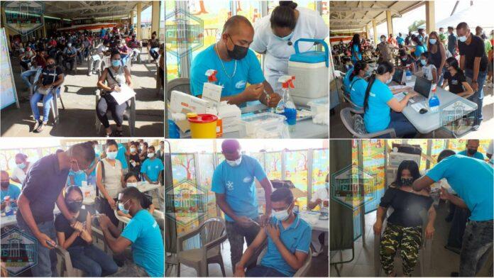 Launch Pfizer-vaccin in Nickerie